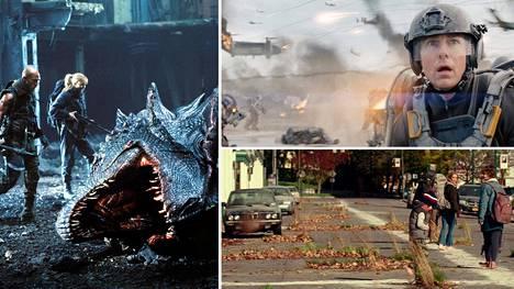 Elokuvissa Tulen valtakunta (2002), Edge of Tomorrow (2014) ja Hiljainen paikka kuvattiin (2018) vuotta 2020.