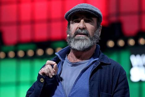 Eric Cantona kuvattuna 5. marraskuuta 2019.