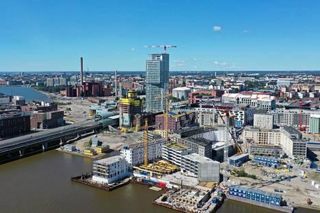 ARA-asuntoja on tulossa esimerkiksi Helsingin Jätkäsaareen.