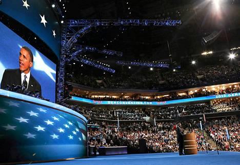 Demokraattien puoluekokous nimitti istuvan presidentin Barack Obaman virallisesti puolueen presidenttiehdokkaaksi torstaina.