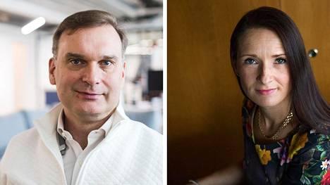 Slush-tapahtuman isähahmona tunnettu Maki.vc-rahaston perustajaosakas Ilkka Kivimäki ja Pääomasijoittajat-yhdistyksen toimitusjohtaja Pia Santavirta toivovat kasvuyritysten saavan pian miljardin rahoitusta vuodessa.