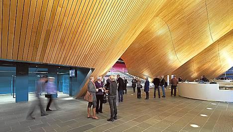 ALA:n suunnittelema Kilden-kulttuurirakennus on Norjan Kristiansandin näyttävä maamerkki.<BR/>