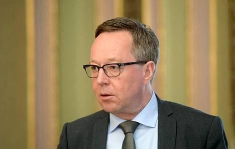 Elinkeinoministeri Mika Lintilä