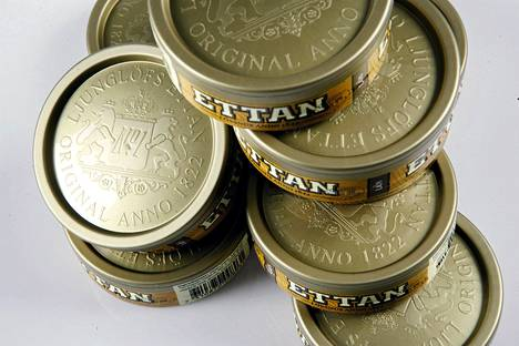 Ettan-nuuskaa on valmistettu Ruotsissa vuodesta 1822 lähtien.