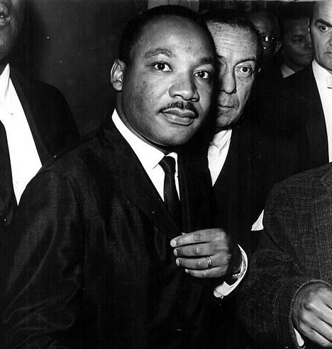 Martin Luther King vuonna 1964.