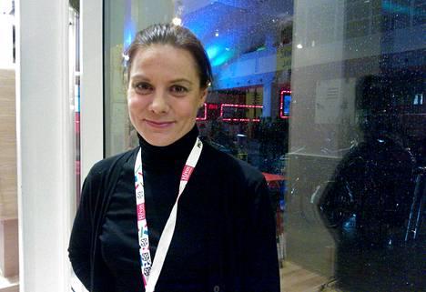 "Салла Тюккя получила награду за фильм ""Гигант"" (2014)."