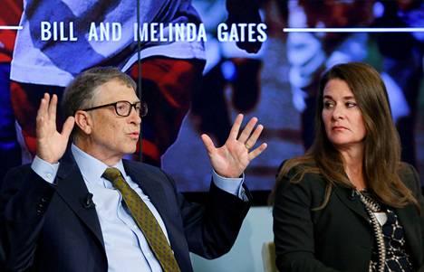 Bill ja Melinda Gatesin yhteinen omaisuus on arvoltaan noin 146 miljardia dollaria eli noin 120 miljardia euroa.