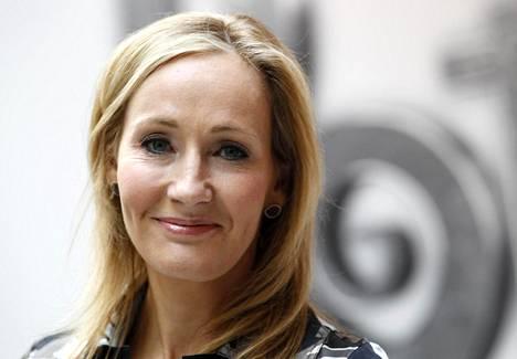 Kirjailija J.K. Rowling.