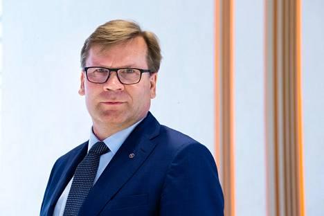 Keskon pääjohtaja Mikko Helander.