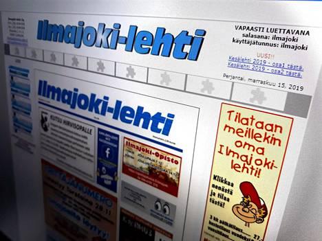 Ilmajoen kunnanvaltuutettu Timo Tuuri (kesk.) ja kunnanjohtaja Seppo Pirttikoski olivat kehottaneet maaliskuussa Ilmajoki-lehteä olemaan julkaisematta uutista, joka käsitteli Tuurin osallistumista kunnanvaltuuston kokoukseen hänen palattuaan juuri Espanjasta.
