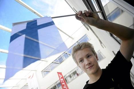 Niilo Laine lähti mielellään vuorokauden matkalle Tanskaan.