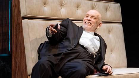 John Malkovich esittää pääroolia Harvey Weinsteinista kertovassa uutuusnäytelmässä Lontoossa.