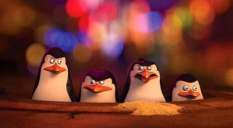 Ratkihauska pingviinikvartetti on taas vauhdissa.