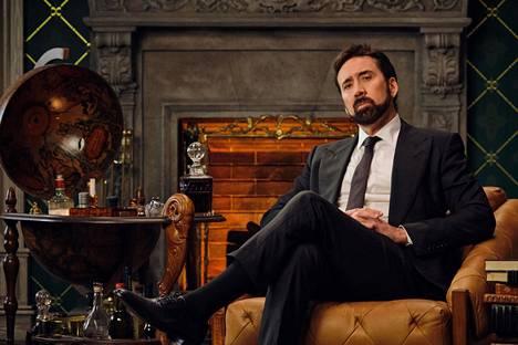 Nicolas Cage selostaa kirosanojen historiaa ylväässä ympäristössä Netflixin uutuussarjassa.