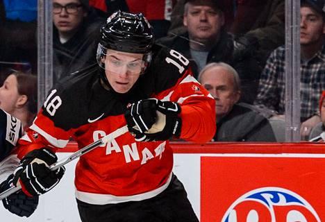 Kanadan maajoukkueen laitahyökkääjällä Jake Virtasella on kaikki NHL-pelaajalta vaadittavat ominaisuudet.