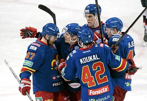 Helsinkiläinen Jokerit on tuonut viihdyttävän ja nopean joukkueen KHL:ään.
