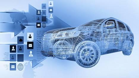 Autoista voi tulla entistä enemmän älypuhelimien kaltaisia, ohjelmistovetoisia laitteita.
