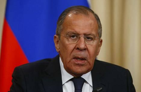 Venäjän ulkoministeri Sergei Lavrov kertoi Venäjän ryhtyvän karkottamaan Britannian diplomaatteja.