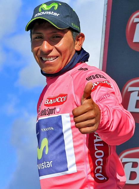 Nairo Quintana voitti ensimmäisenä kolumbialaisena Giron.