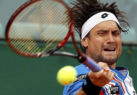 David Ferrerin rutistus riitti puristamaan voiton maanmiehestään Rafael Nadalista.
