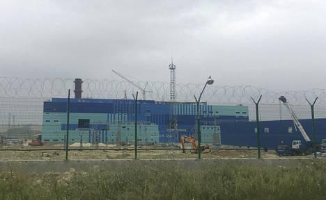 Turbiinitesti tehtiin Simferopolissa, jossa kuvan voimala oli rakenteilla viime vuoden heinäkuussa. Venäjä on arvioinut, että Simferopolin ja Sevastopolin voimalat saataisiin osittain toimintaan syyskuussa.