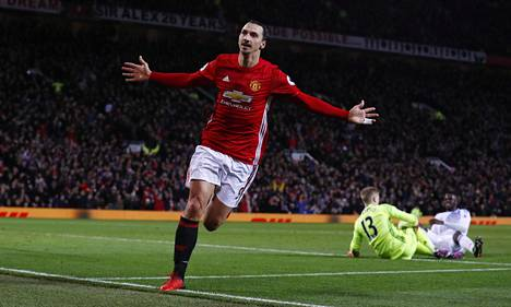 Zlatan Ibrahimovic on tehnyt 13 maalia Valioliigassa.