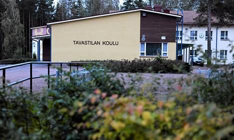 Tavastilan koulu Kotkassa 25. syyskuuta 2012. Koulusta kotiinsa matkalla ollut kahdeksanvuotias tyttö siepattiin pakettiauton kyytiin tiistaina.