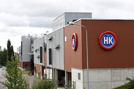 HKScanin tuotantolaitos Vantaalla.