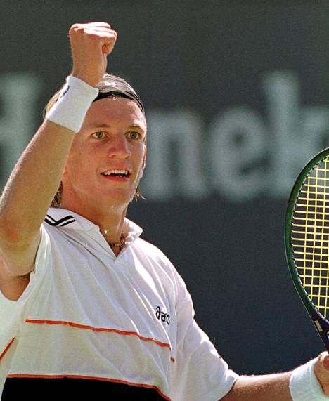 US Openin junnusarjan voitto 1999 antoi alkusysäyksen uralle.