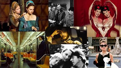 The Other Boleyn Girl, Komisario Palmun erehdys, Big Fish, Locke, Marriage Story, Kramer vastaan Kramer ja Aamiainen Tiffanylla kuuluvat HS:n kulttuuritoimituksen suosituksiin.