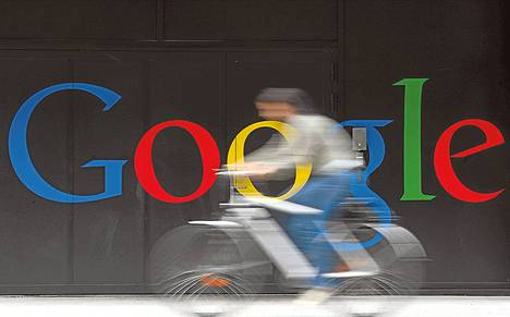 Ohjelmistoyhtiö Googlen nopea kasvu hidastui heinä–syyskuussa. Pyöräilijä ohitti kesäkuussa Googlen konttorin Sveitsin Zürichissä.