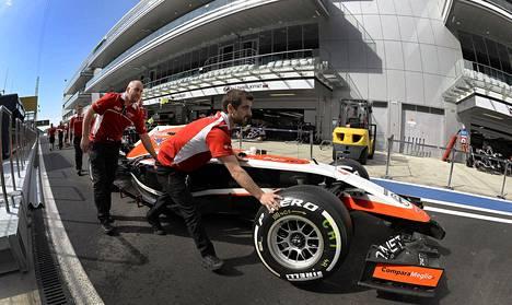 Lokakuussa ajettu Venäjän GP jäi Marussia viimeiseksi.