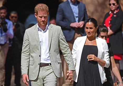 Oikeusjutussa kyse oli lehden julkaisemasta kirjeestä, jonka Meghan Markle oli kirjoittanut isälleen. Kuva prinssi Harrystä ja Meghan Marklesta on otettu vuoden 2019 helmikuussa.