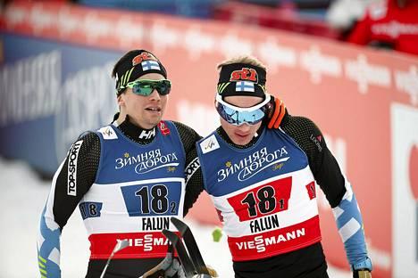 Martti Jylhän ja Ville Nousiaisen taistelua parisprintissä seurasi miljoonayleisö.