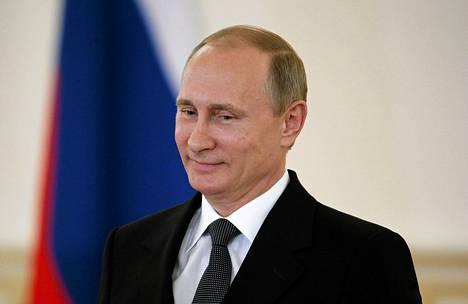Venäjän presidentti Vladimir Putin Moskovassa torstaina.