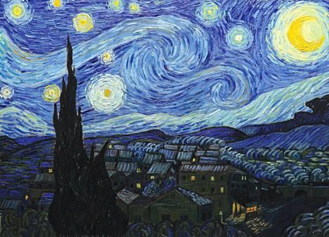 Vapaaehtoisen mielisairaalajakson aikana maalattu Tähtikirkas yö (1889) lukeutuu Vincent van Goghin tunnetuimpiin teoksiin.