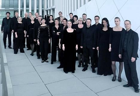 Key Ensemble -kuoro lauloi Rautavaaran True & False Unicorn -kantaatin.