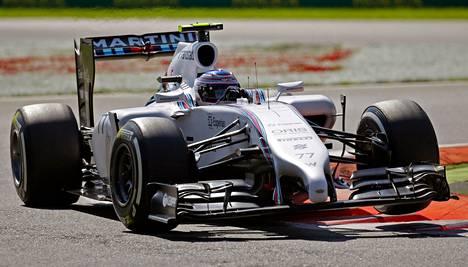 Valtteri Bottas jahtaa Monzassa ensimmäistä F1-voittoaan.