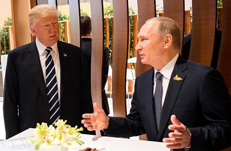 Yhdysvaltain presidentti Donald Trump tapasi venäläisen virkaveljensä Vladimir Putinin Hampurissa G20-kokouksessa heinäkuun alussa.