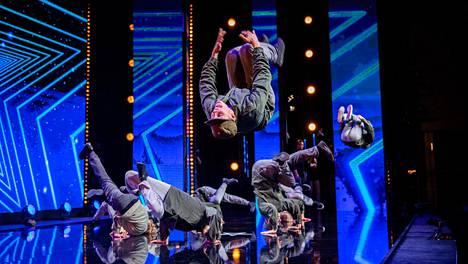 Talent Suomi -ohjelman uusimmalla kaudella lavalla on nähty muun muassa breakdanceryhmä SCC.