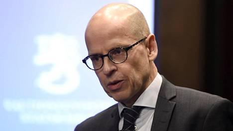 Valtiovarainministeriön kansliapäällikkö Martti Hetemäki