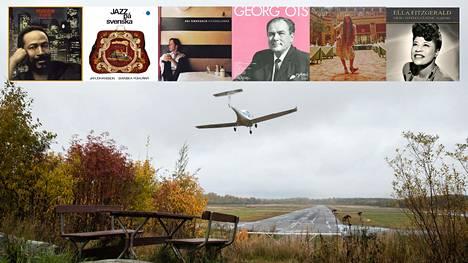 Koronakeväänä kierrän Malmin lentokenttää ja kuuntelen musiikkia.