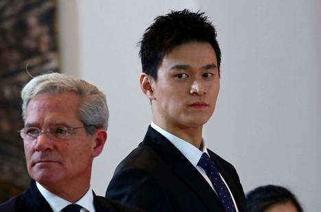 Sun Yang kävi CAS:n kuultavana viime marraskuussa.