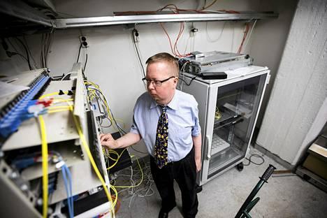 Ville Oksanen, Electronic Frontier Finlandin eli Effi ry:n perustajajäsen ja Tor-verkkoasiantuntija.