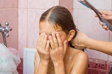 Jäteveden matka-aika riippuu suihkupaikan sijainnista.