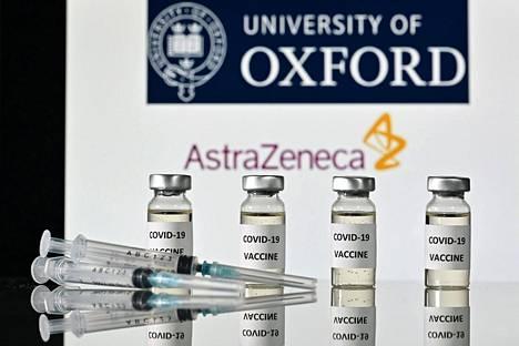 Astra Zenecan koronavirusrokotteita.