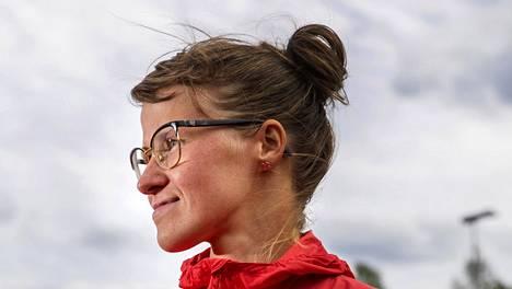 Tiia Kuikka palasi kilpakentille viime vuonna vakavan onnettomuuden jälkeen.