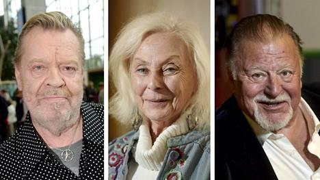 Vesa-Matti Loiri, Seela Sella ja Esko Salminen ovat Suomen arvostetuimmat näyttelijät.