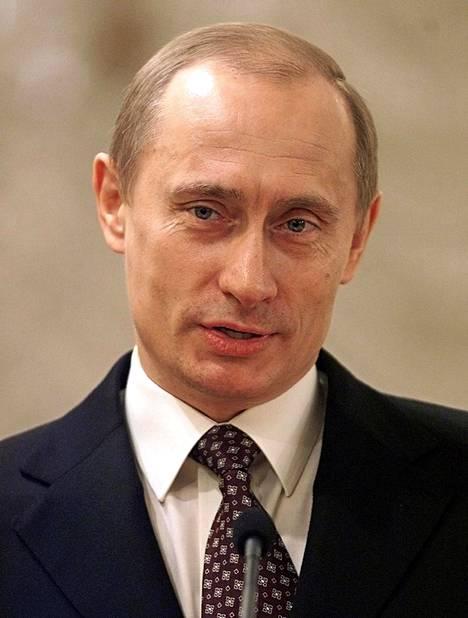 Putin vuonna 2003.