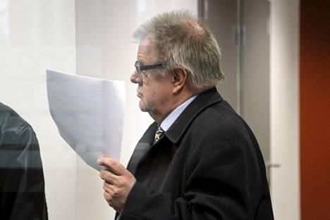 Juhani Ripatti sai rangaistukseksi 80 päiväsakkoa.